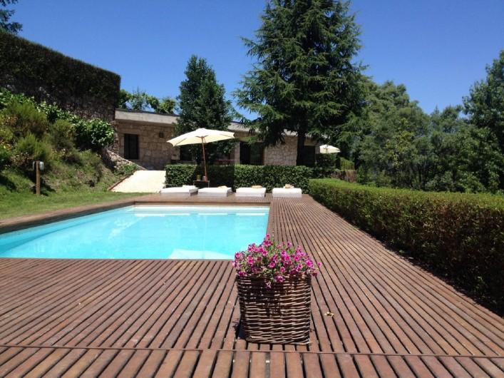 Location de vacances - Chalet à Vieira do Minho - Piscine privée
