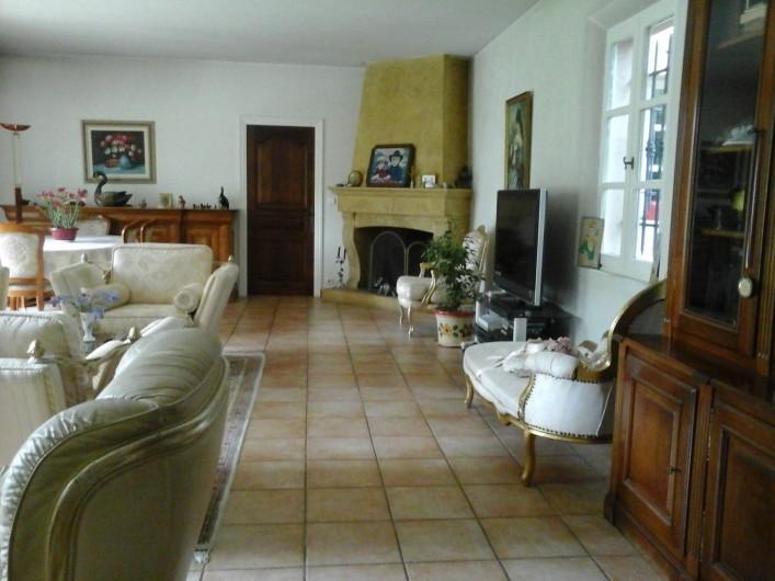 Location de vacances - Chambre d'hôtes à Mougins - Salon