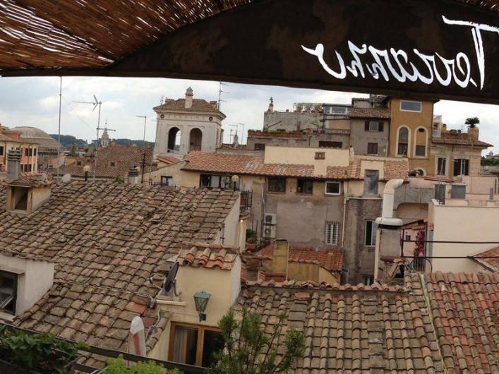 Location de vacances - Studio à Rione III Colonna - terrasse vue