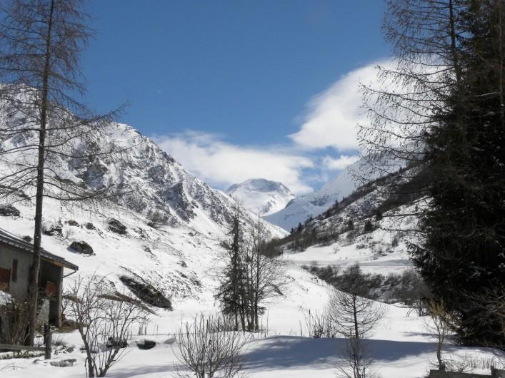Location de vacances - Chalet à Champagny-en-Vanoise - Champagny le Haut idéal pour le ski de fond!