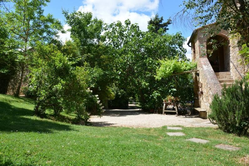 Location de vacances - Appartement à Radicondoli - OUTDOOR