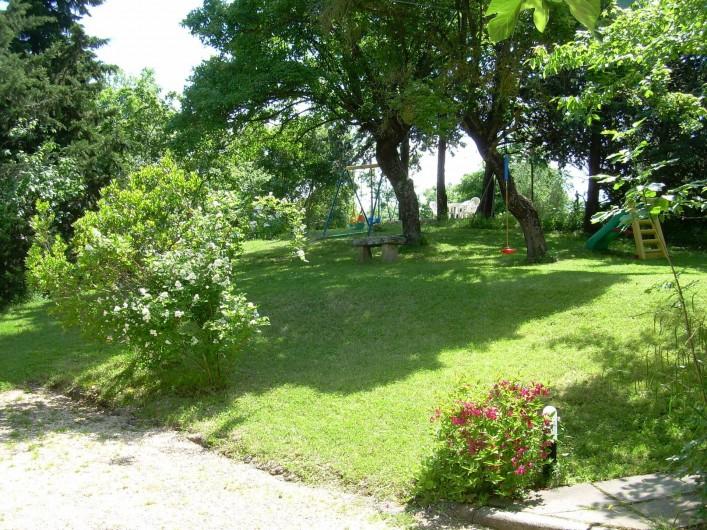 Location de vacances - Appartement à Radicondoli - FUN GARDEN
