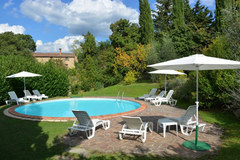 Location de vacances - Appartement à Radicondoli - POOL