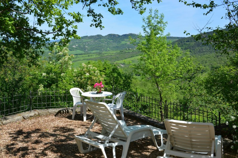 Location de vacances - Appartement à Radicondoli - PRIVATE  GARDEN LA CASINA