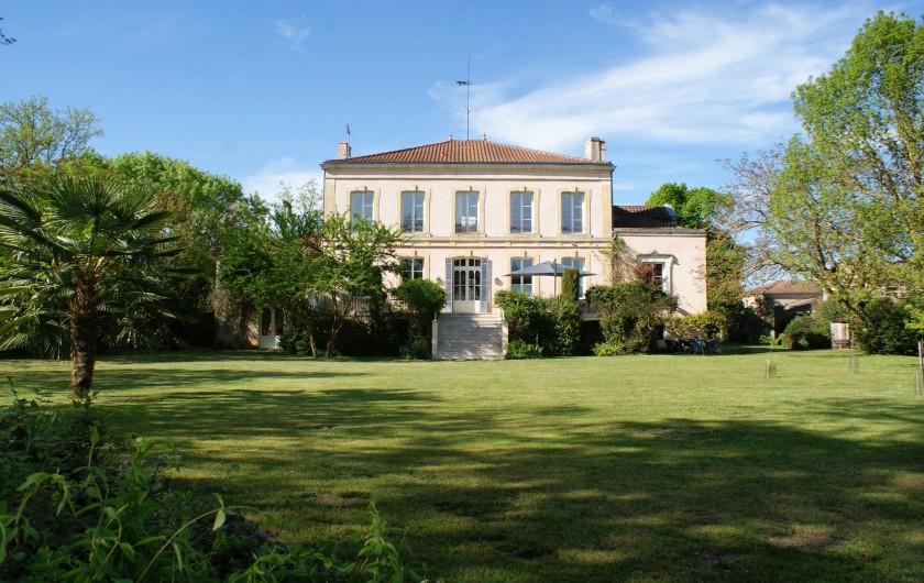 Location de vacances - Chambre d'hôtes à Saint-Léger - CHATEAU DE GRENIER