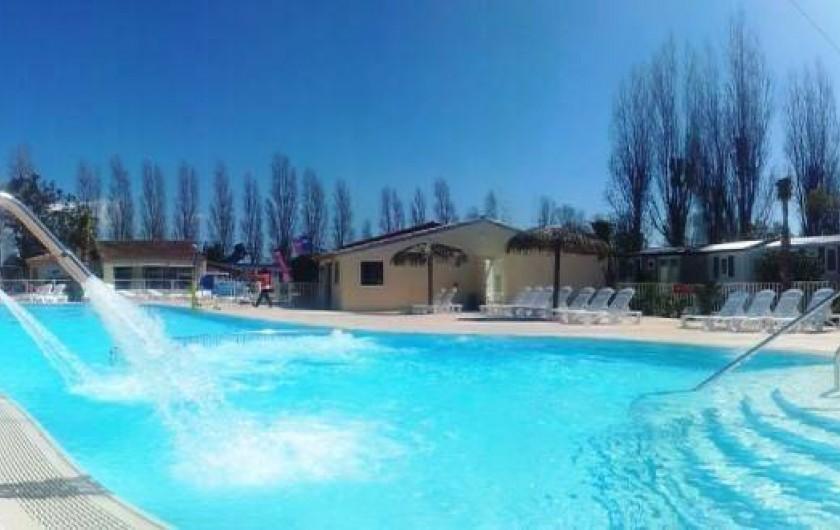 Location de vacances - Bungalow - Mobilhome à Fréjus - PISINE CHAUFFEE JET MASSANT
