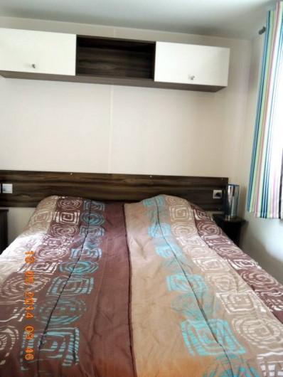 Location de vacances - Bungalow - Mobilhome à Fréjus - CHAMBRE PARENTALE
