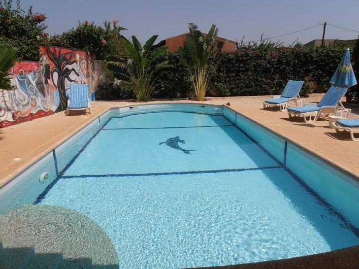 Location de vacances - Villa à Somone - la superbe piscine