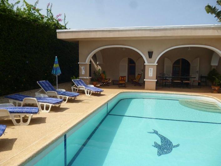 Location de vacances - Villa à Somone - vue générale de la villa