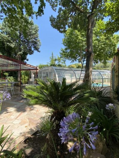 Location de vacances - Villa à Uzès - 1 des 3 terrasses