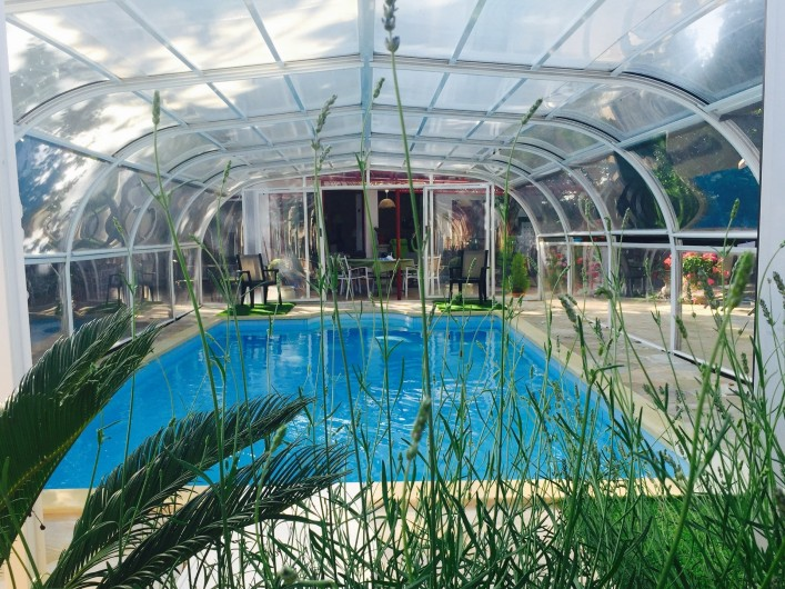 Location de vacances - Villa à Uzès - espace vie salon