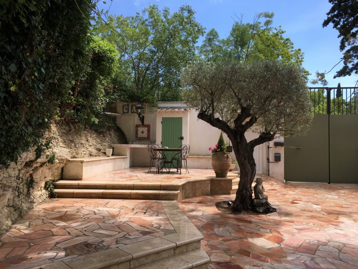 Location de vacances - Villa à Uzès - Terrasse