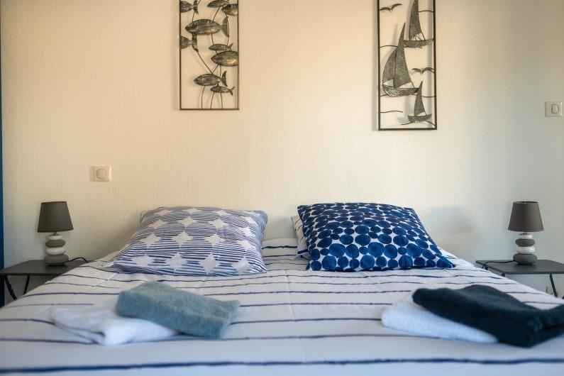 Location de vacances - Villa à Saint-Gilles-Croix-de-Vie - CHAMBRE 1