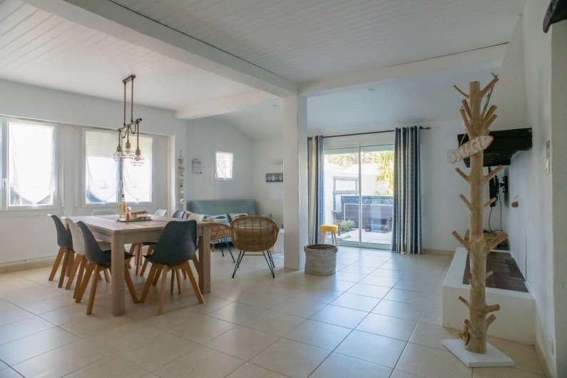 Location de vacances - Villa à Saint-Gilles-Croix-de-Vie - NOTRE SALON
