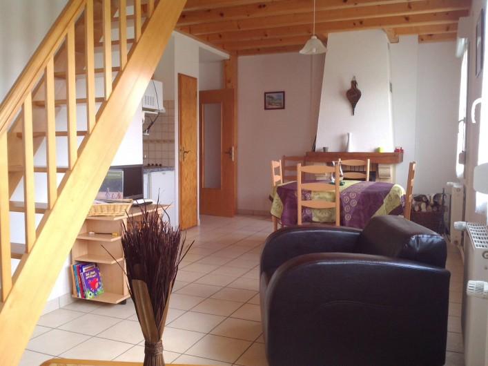 Location de vacances - Appartement à Gérardmer - sejour