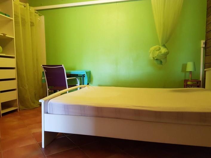 Location de vacances - Appartement à Baie Mahault - La chambre
