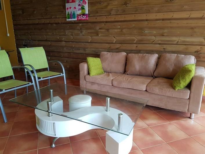 Location de vacances - Appartement à Baie Mahault - coin salon