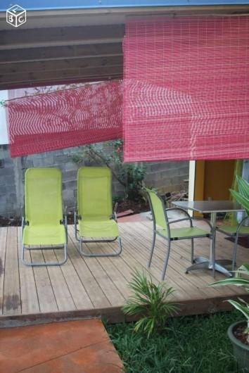 Location de vacances - Appartement à Baie Mahault - Terrasse