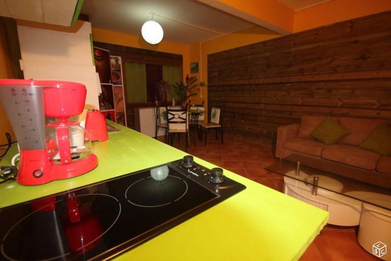 Location de vacances - Appartement à Baie Mahault - Séjour spacieux et bien ventilé