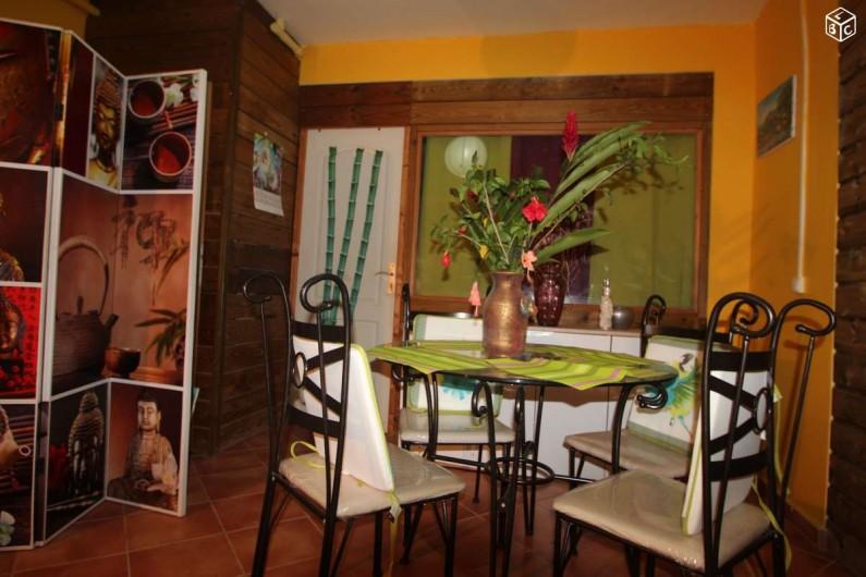 Location de vacances - Appartement à Baie Mahault - Coté repas