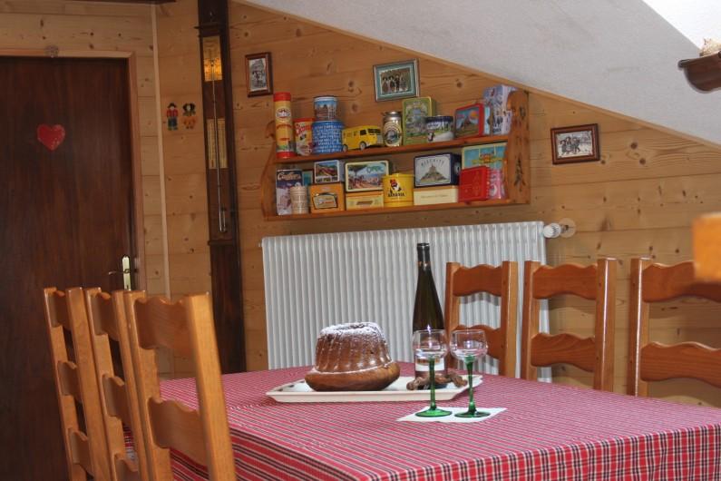 Location de vacances - Gîte à Nothalten - La salle à manger
