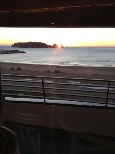Location de vacances - Appartement à L'Estartit - Le matin tot de la Terrasse Lever du soleil
