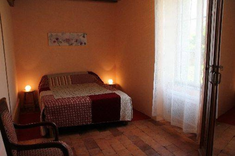 Location de vacances - Gîte à Lormes - Chambre Parentale