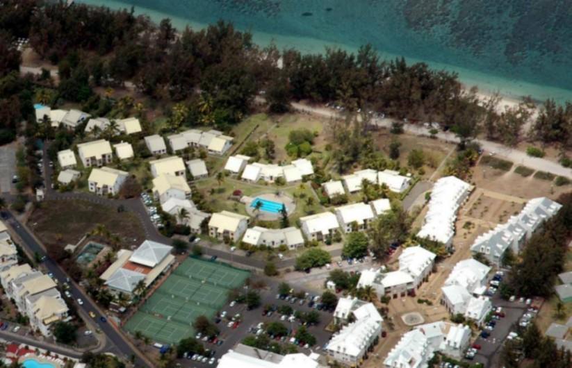 Location de vacances - Appartement à Saint-Gilles les Bains - Vue aérienne de la Résidence