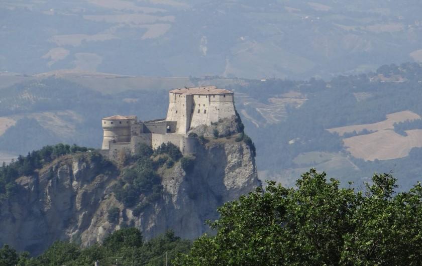 Location de vacances - Villa à Novafeltria - Une des magnifiques vues de la vallée