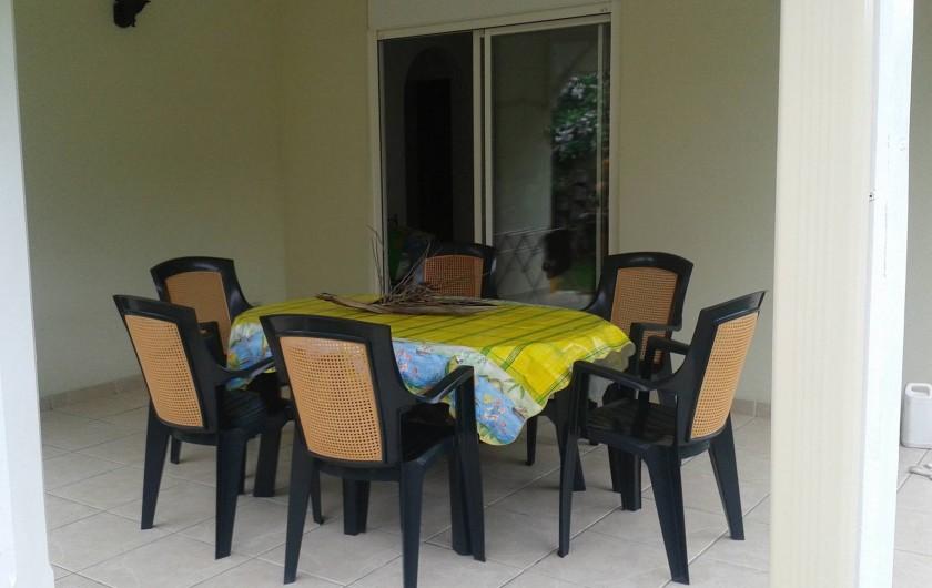 Location de vacances - Maison - Villa à Sainte-Anne - terrasse