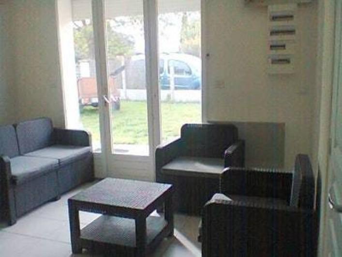 Location de vacances - Villa à Gujan-Mestras - petit salon pouvant être transporté à l'extérieur