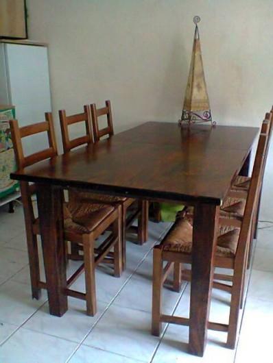 Location de vacances - Villa à Gujan-Mestras - coin repas