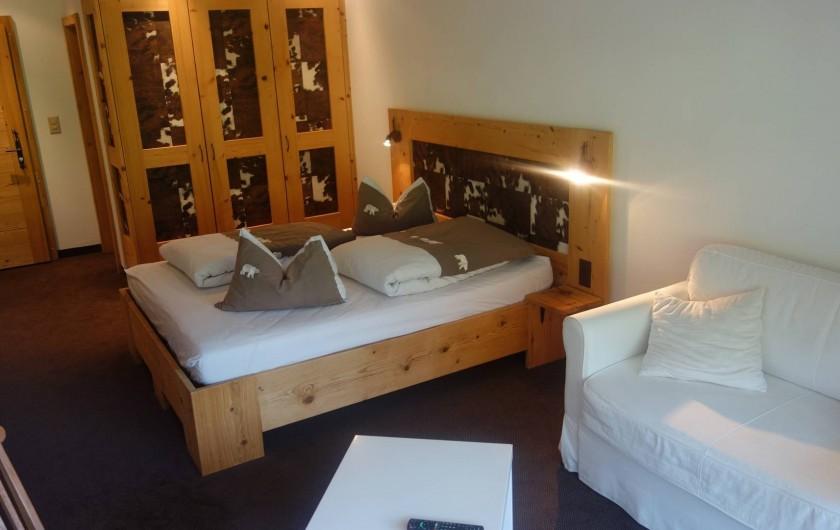Location de vacances - Hôtel - Auberge à Les Crosets - chambre supérieure