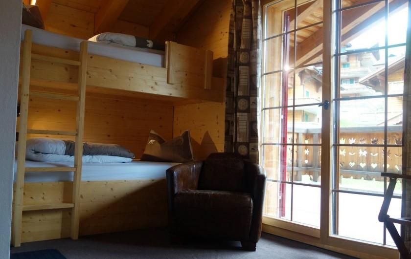 Location de vacances - Hôtel - Auberge à Les Crosets - chambre familiale