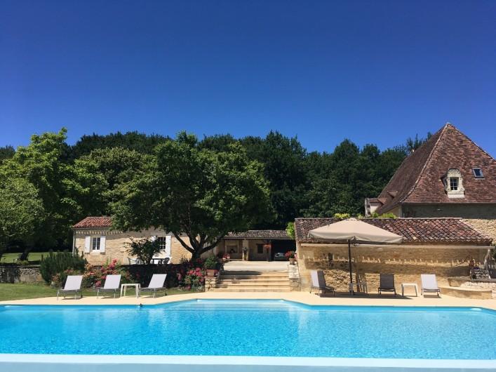 Location de vacances - Villa à Saint-Martin-des-Combes - Chambre principale