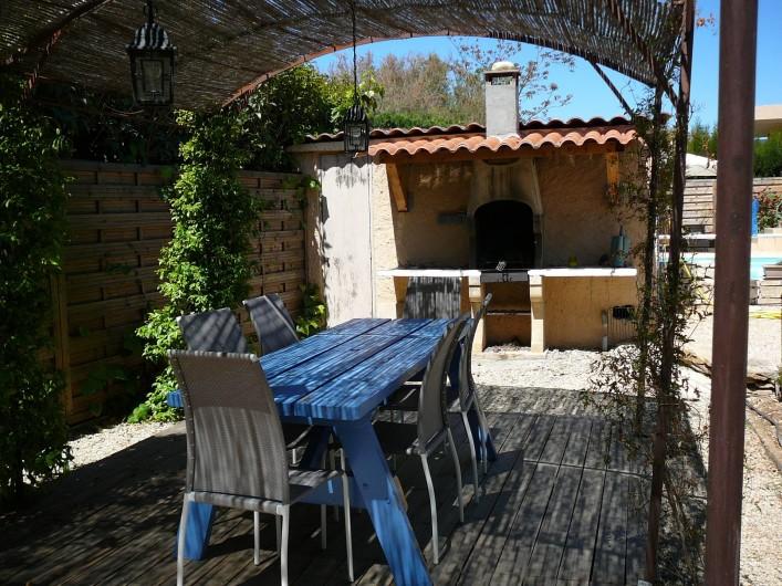 Location de vacances - Villa à Saint-Cyr-sur-Mer - Pool house