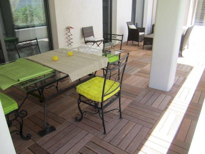 Location de vacances - Appartement à La Ciotat - Terrasse de 60 mètres carré