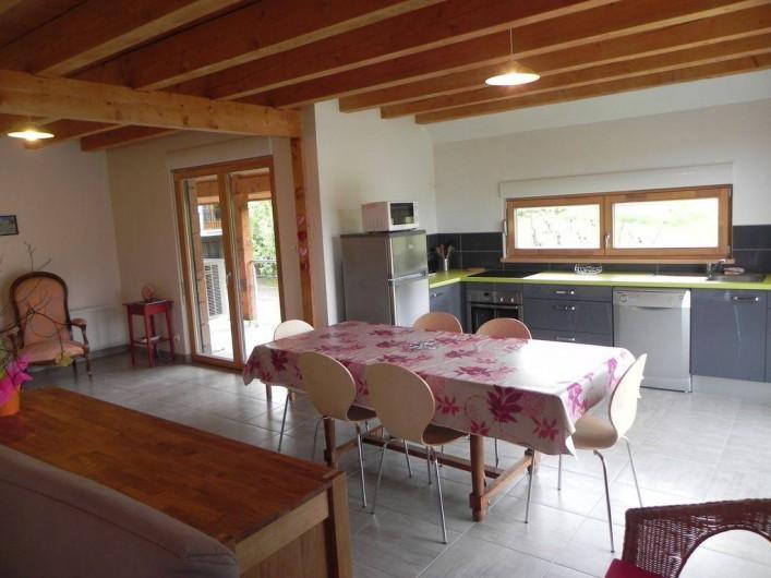 Location de vacances - Gîte à Hunawihr - Coin  cuisine et salle à manger