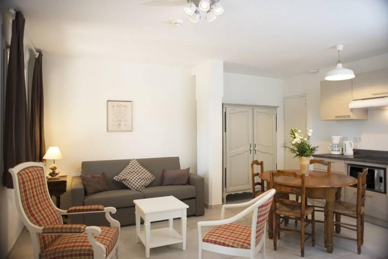 Location de vacances - Appartement à Martigues - Salon appartement