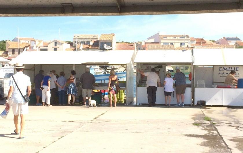 Location de vacances - Appartement à Martigues - Marché au Poisson tous les matins à Carro 5 minutes en voiture