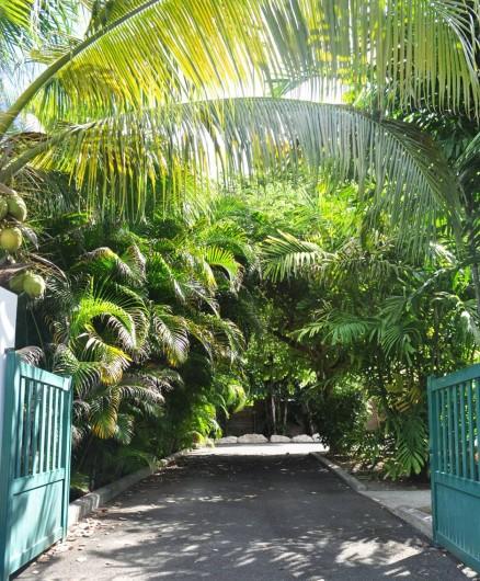 Location de vacances - Villa à Saint-François - L'entrée de la villa