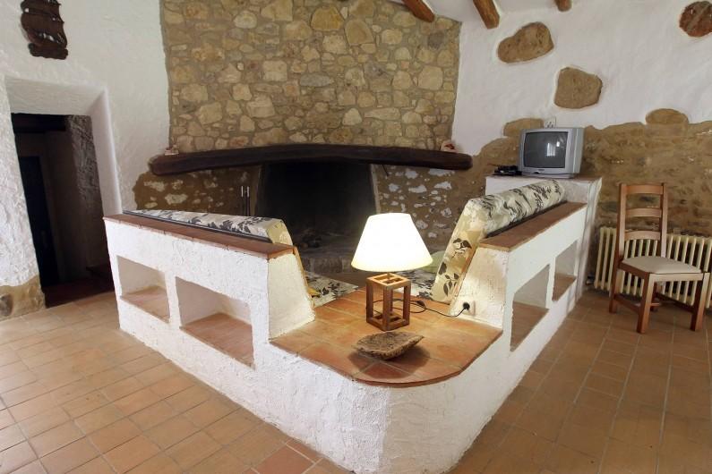 Location de vacances - Gîte à Llampaies - Salon de La Pallissa