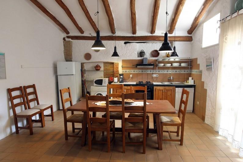 Location de vacances - Gîte à Llampaies - Salle-à-manger de La Pallissa