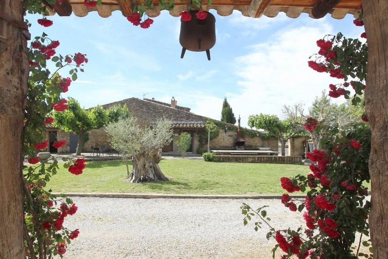 Location de vacances - Gîte à Llampaies - Petit Mas avec 3 gîtes mitoyens