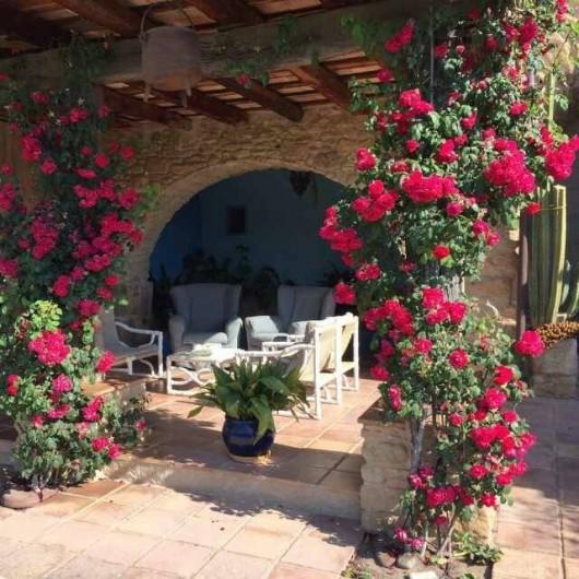 Location de vacances - Gîte à Llampaies - Terrasse du Grand Mas