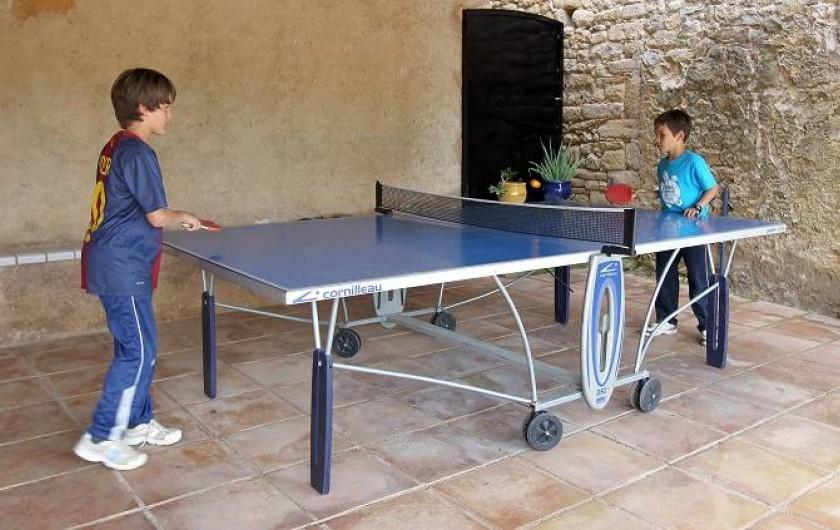 Location de vacances - Gîte à Llampaies - Ping Pong