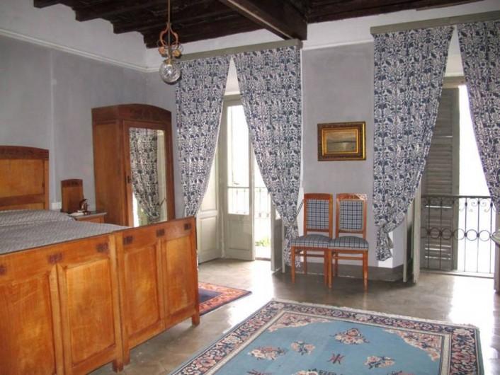 Location de vacances - Villa à Isola San Giulio - chambre bleu