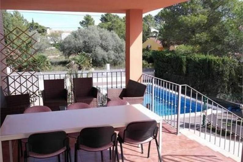 Location de vacances - Villa à L'Ametlla de Mar - Terrasse