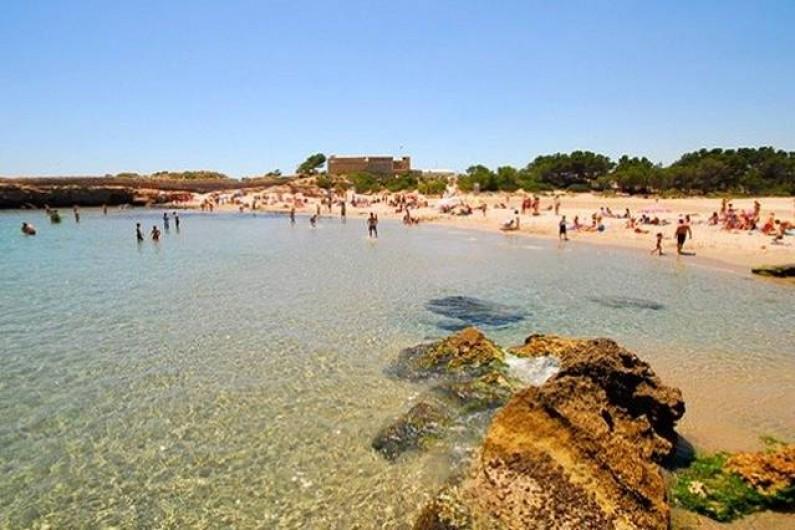 Location de vacances - Villa à L'Ametlla de Mar - Plage de San Jordi