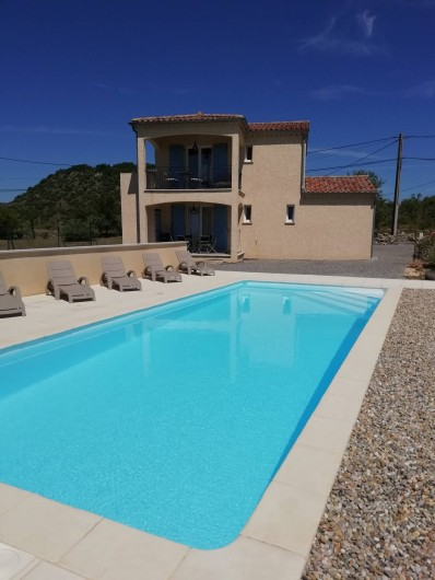Location de vacances - Villa à Les Vans - Maison 'Le Granzon' et Studio 'l'Ermitage'